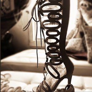 Sexy gypsy heeled boots